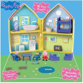 Juguete Peppa Pig Casa De Juego Y Jardín