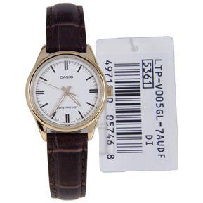 68edddce7a27 Reloj Casio LTP-V005GL-7A Para Dama En Cuero Analogico Cafe
