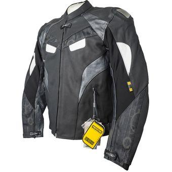 0da1ff5e29c Compra Chamarra De Piel Para Motociclista Atrox NF-1116-Negro online ...