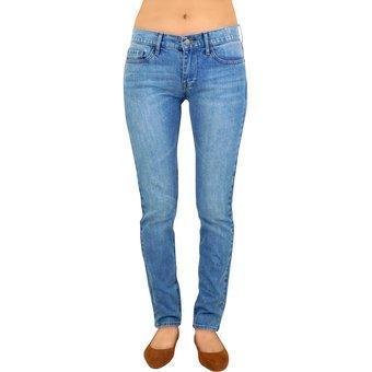 Pantalon Mezclilla Breton Jeans Dama Slim – Azul