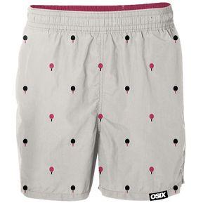 Short Bermuda Pantalon Corto Ronded Edge Color Gris. 6953d9ef6b08