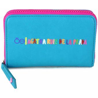 d486fbb8742 Compra Billetera Cloe Con Diseño Divertido - Azul online