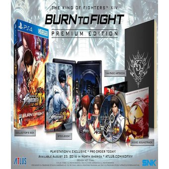 The King Of Fighters Xiv Premiun Edition PlayStation 4