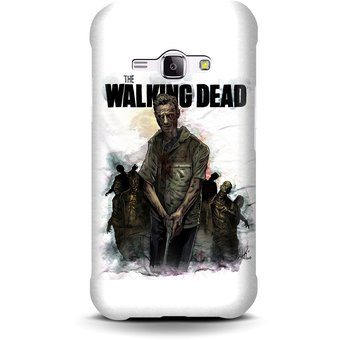 fefe1cccdd4 Compra Carcasa para Galaxy J1 Ace The Walking Dead Logo Art online ...