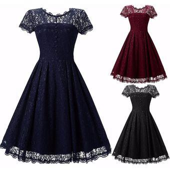 ce8092f5 Vestido Casual Generico Manga Corta Gasa Sólido Princesa Falda Azul