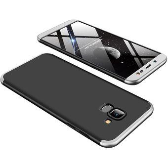 9ef26647cdf Compra Funda De 3-en-1 Para Samsung Galaxy J6 2018/J600-Negro Plata ...