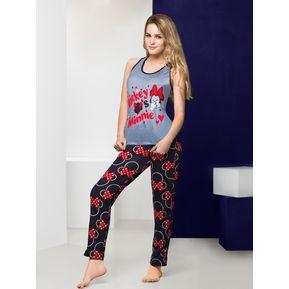 7986cb9b0f9 Vicky Form - Pijama Pantalón 7559 Color Gris