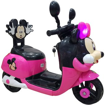 Compra Moto Carro Recargable Electricas Montables Minnie online ... 16c563ff837