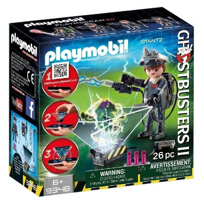 Cazafantasmas Playmobil Rymond Stanz App Holograma - 9348