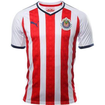Jersey Puma De Las Chivas Del Guadalajara De Local 2018 316557f208891