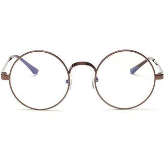 38c5783d95 Agotado Vintage ópticos Gafas Las Lentes ópticas Redondo Los Anteojos  Grande Marco -Bronce