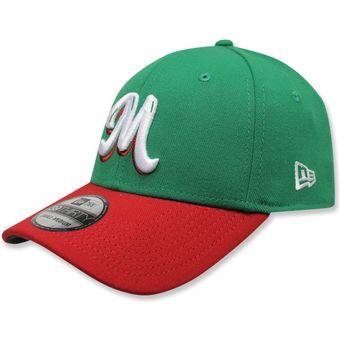 1fb151f268069 Compra Gorra New Era 3930 Mexico Green Scarlet Vize Game online ...