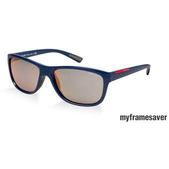 ac3ca940f8 Compra Lentes De Sol Prada Opr 05ps Ma32d2 Gloss Blue Mirror Pink ...