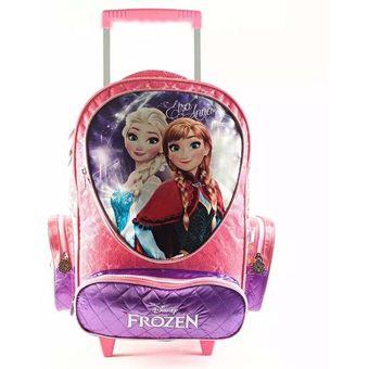 627ce4ed5ed Compra Mochila Con Carro Disney Frozen Para Niñas-Rosado online ...