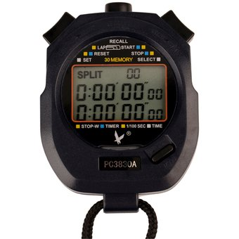 a359c14a5c1b Compra Cronómetro Digital Profesional 3 Filas 30 Memorias Contador ...