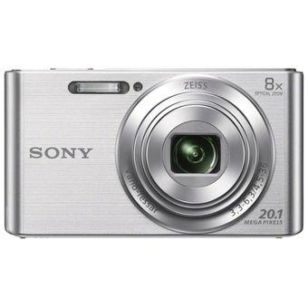 Cámara Fotográfica Sony W830-Plata