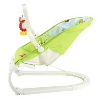 6ca5b855a Compra Silla Mecedora Fisher Price Vibradora Rainforest-Verde online ...