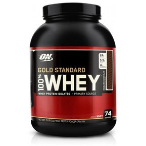 Proteína Gold Standard 100% Whey 5 Lbs Optimum Nutrition Todos los Sabores 0f8039cfdcc