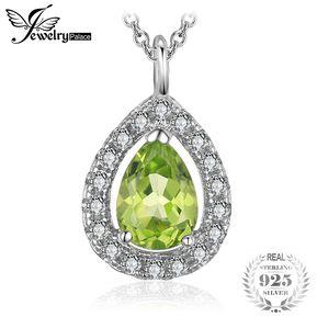 f022c80eefbf Collares Colgante Jewelrypalace Peridoto Genuino 925 Plata Esterlina