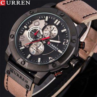 cbee4cfab082 Compra Reloj CURREN   8285 Para Hombre De Seis Puntadas-Negro online ...