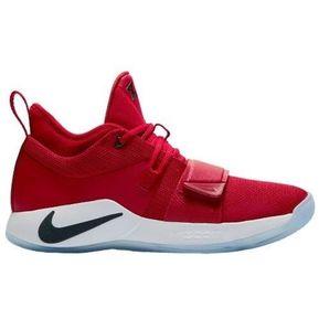 38cdbac0 Tenis Basketball Hombre Nike Paul George 2.5-Rojo con Blanco
