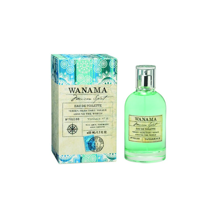 Wanama Mexican Spirit   Eau  Toilette 50 ml