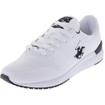 Compra Zapatos Tenis Beverly Hills Polo Club Blanco Negro online ... 0e8fe6049a7
