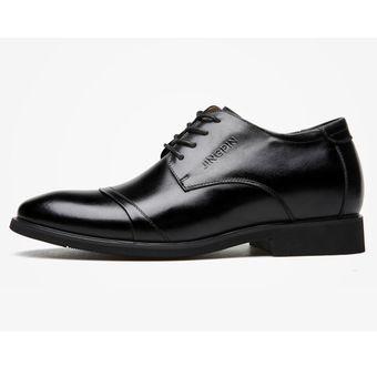 b63c0a97cd099 Compra Zapatos De Vestir Hombre Plantilla Alta - Negro online ...