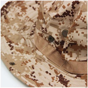 Agotado Sombrero Boonie Militar Camping Pavas Unisex Color Desert Digital dc933fca248