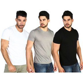 53823cd99a6e0 PACK 3 POLOS - SWISS LORD - BLANCO GRIS NEGRO
