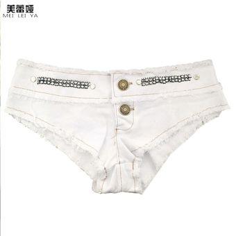 e31923f5f714 Un diseño encantador MEILEIYA Verano Pantalón corto Denim Night Club Jean  pantalones