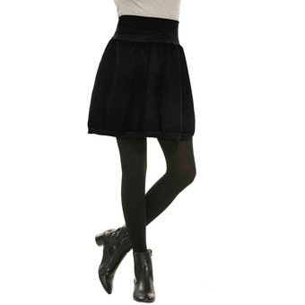 Compra Falda Vuelo Para Mujer-Negro online  132b49b3f41c