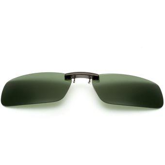 e544e418d9 Compra Hombres UV400 Lente Polarizada Clip On Gafas Del Sol online ...