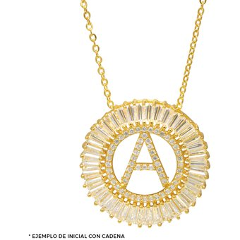 075981df4ed1 Compra Collar Con Inicial Destellos Letra L online