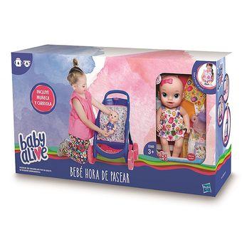 dfc21271ad Compra Baby Alive Muñeca Hora De Pasear - Hasbro online