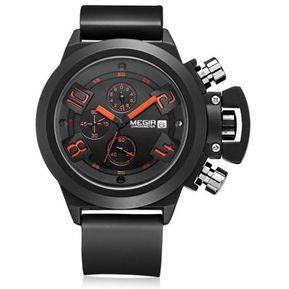 Reloj Deportivo Moderno Megir Cronometro Fechador Metalico 76409b912c15