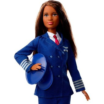 Barbie profesiones 60 aniversario, Piloto avion Bestoys