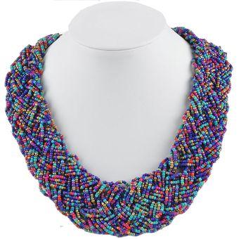 93172423f6b5 Compra Collar Harmonie Accesorios Multicapa Mostacilla Chaquiras ...