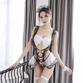 Ropa Sexual De Fantasía Para Mujer Conjunto De Lencería Sensual Disfraz Linio Perú Ge582fa1d82iilpe