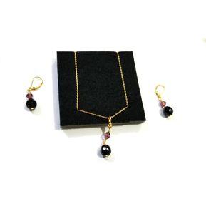 74ed686baea9 Unique - Colección Rombinne 1 Collar Y Par De Aretes