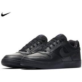 d89a3474871 Zapatilla Nike 100% cuero Delta Force - Negro