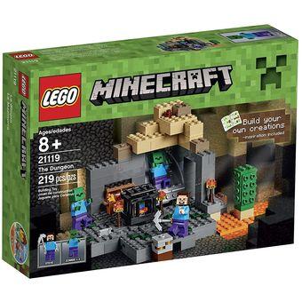 Compra Lego Minecraft The Dungeon La Mazmorra 21119 Online Linio