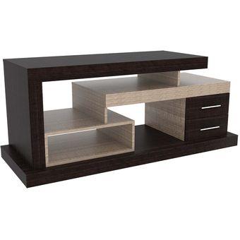 Compra rack para tv rta design le blanc roble ahumado for Modelos de muebles para tv