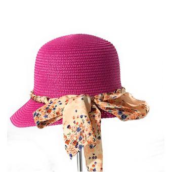 Compra Visera Sombrero Paja Mujer Kast Store Lazo - Fucsia online ... f9f35bcdebd