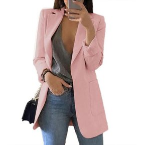 34576d48f82bb Ropa de mujer abrigo Arriba Sin botones Rosa
