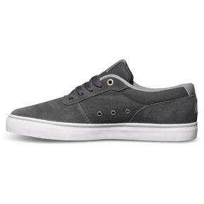 DC Shoes ADYS300123-DSD - Zapatillas de Deporte de Canvas Hombre, Gris (Negro/Gris), 39
