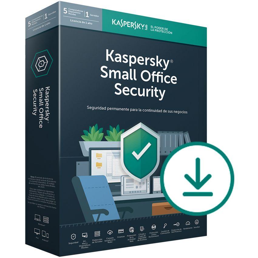 Software Kaspersky Small Office Security 6 10 Dispositivos 2 Años