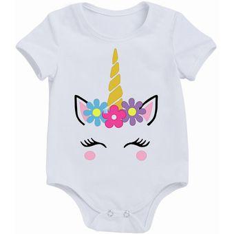 c69187dfc Compra Ropa Infantil Para Niña Niño Body Mameluco Unicornio Bebés ...