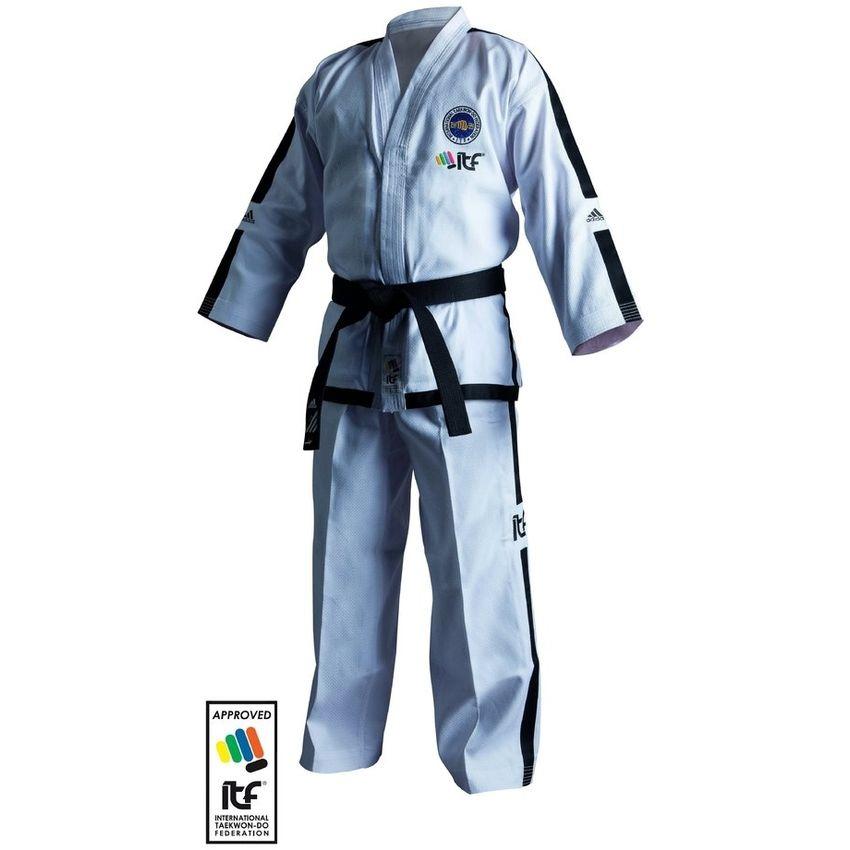 Uniforme adidas taekwondo ITF BLACK BELT CHAMPION a partir de 4 DAN