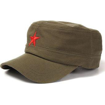 Compra Unisexo Gorra Militar De Estrella Roja online  601c27b810a
